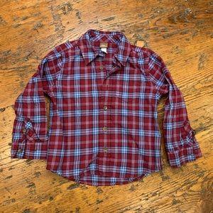 Tea Collection flannel shirt (Boy 3T)